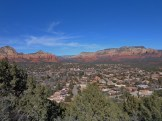 Panoramic View from Sedona Airport Roa