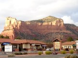 Sedona is known for its array of red sandstone formations.