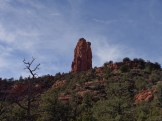 The Chimney Rock trail is a 2 mile loop around Chimney Rock, which is also known as 'Three Fingers'.