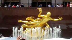 Prometheus on Rockefeller Plaza