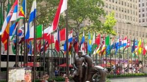 Rockefeller Plaza, NYC