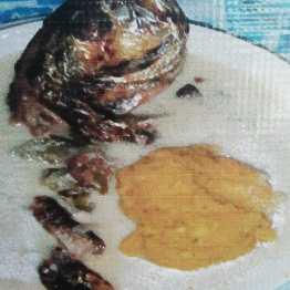 Tapado plato típico Garífona