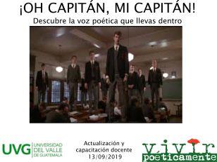 oh capitan UVG