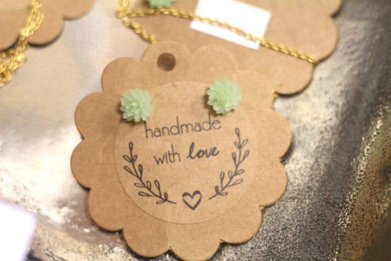 Melitas Gifts Ossining New York Handmade With Love Glass Earrings