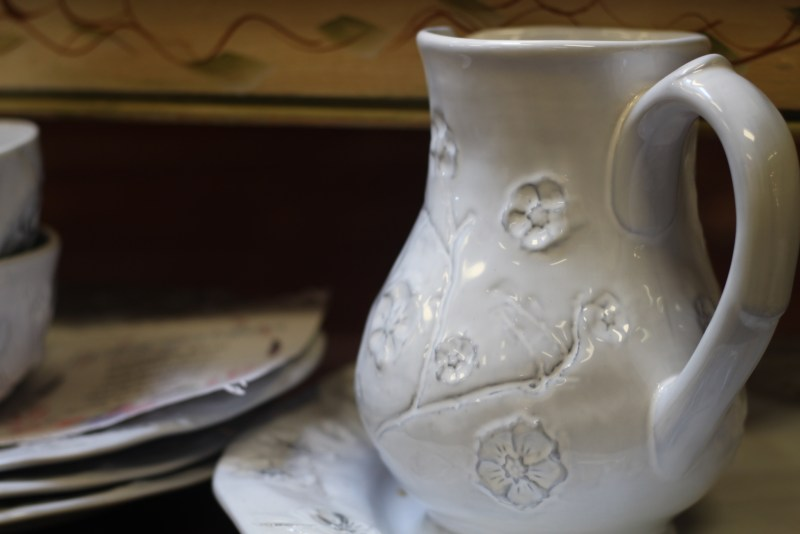 Melita's Gifts Ossining New York Pitcher Designed by Melita