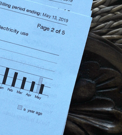 Electric Bill Cut in Half