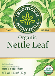 Nettle Leaf Tea by Traditional Medicinals, composting makes good dirt to grow plants