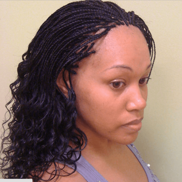 micro braids hairstyles - how to style, pictures, video