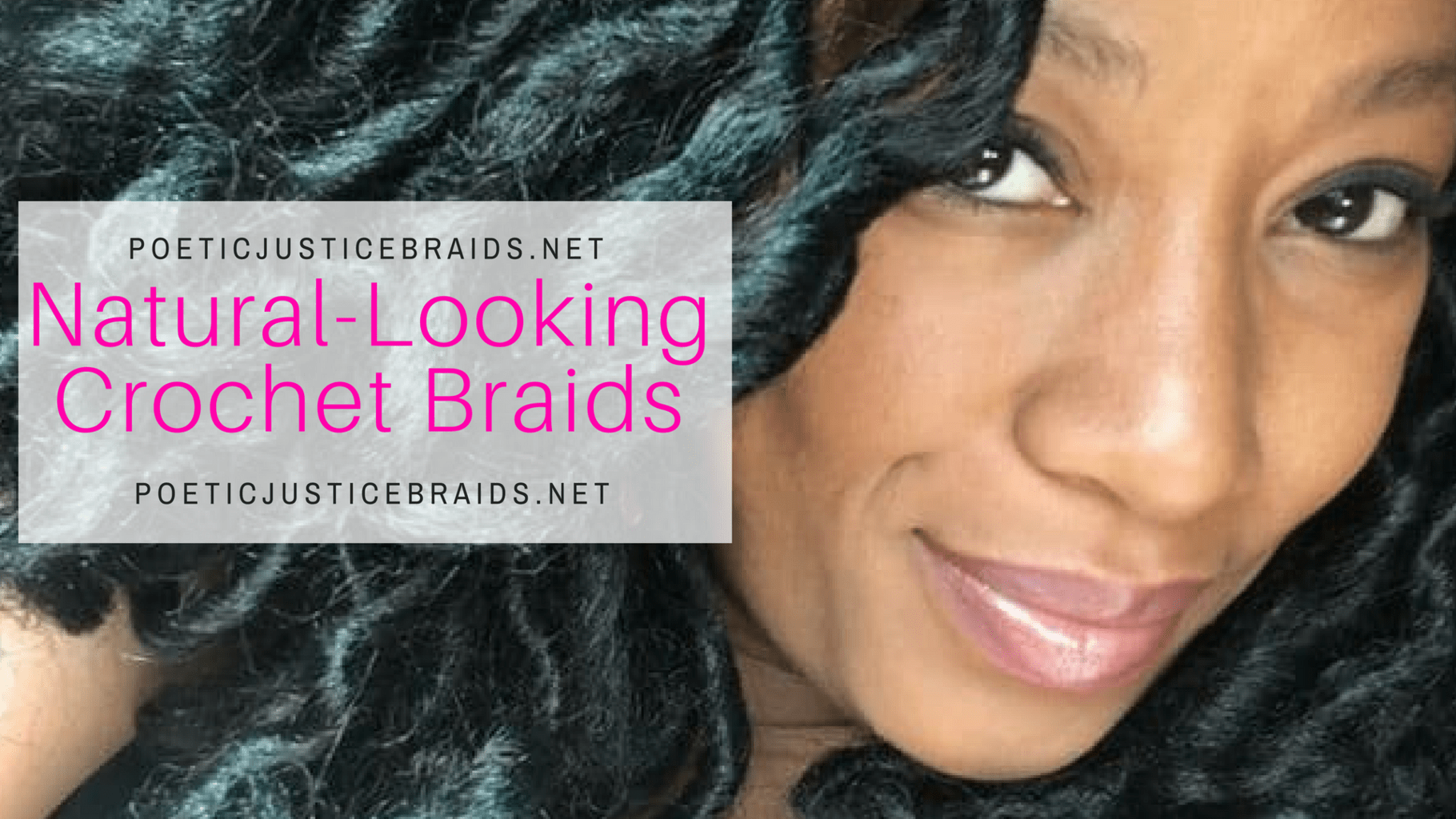 Looking Natural Crochet Braids W Bobby Pin Tutorial