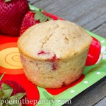 strawberry shortcake muffin