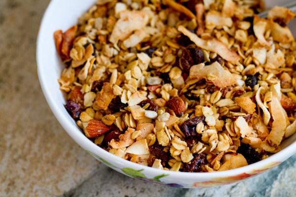 Homemade Super Crunch Granola