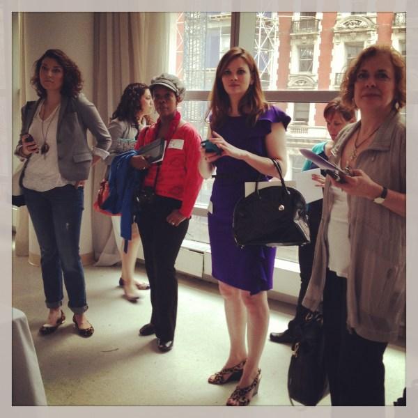 bloggers at #FoodTourIWNY
