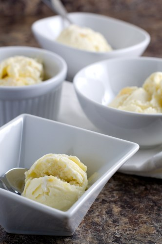 roasted pineapple coconut ice cream