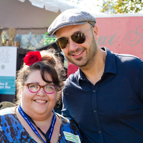 Jenny and Joe Bastianich at Greenwich Wine + Food Festival 2013