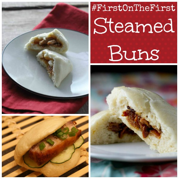 #FirstOnTheFirst Steamed Buns