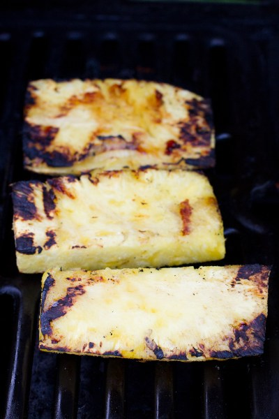 grilling pineapple - Poet in the Pantry