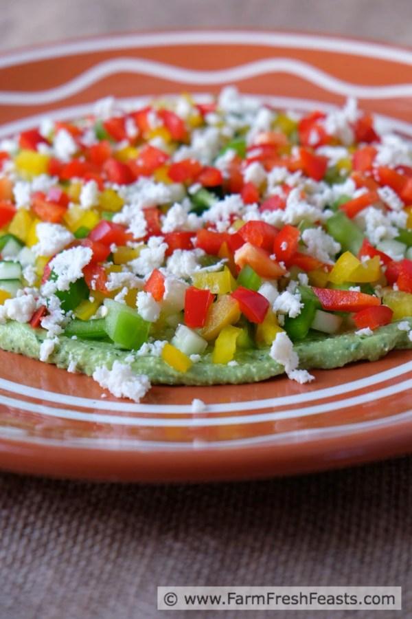 Avocado Queso Dip ~ Farm Fresh Feasts