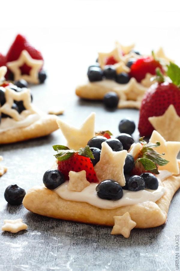Starstruck Berry Marshmallow Pies from Urban Bakes