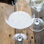 Marshmallow Martinis get their sweetness from vanilla cotton candy, which magically disappears as you pour!