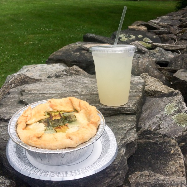 Bourbon Chicken and Leek Pie with an Agave Ginger Lemonade - photo by Keith Paul