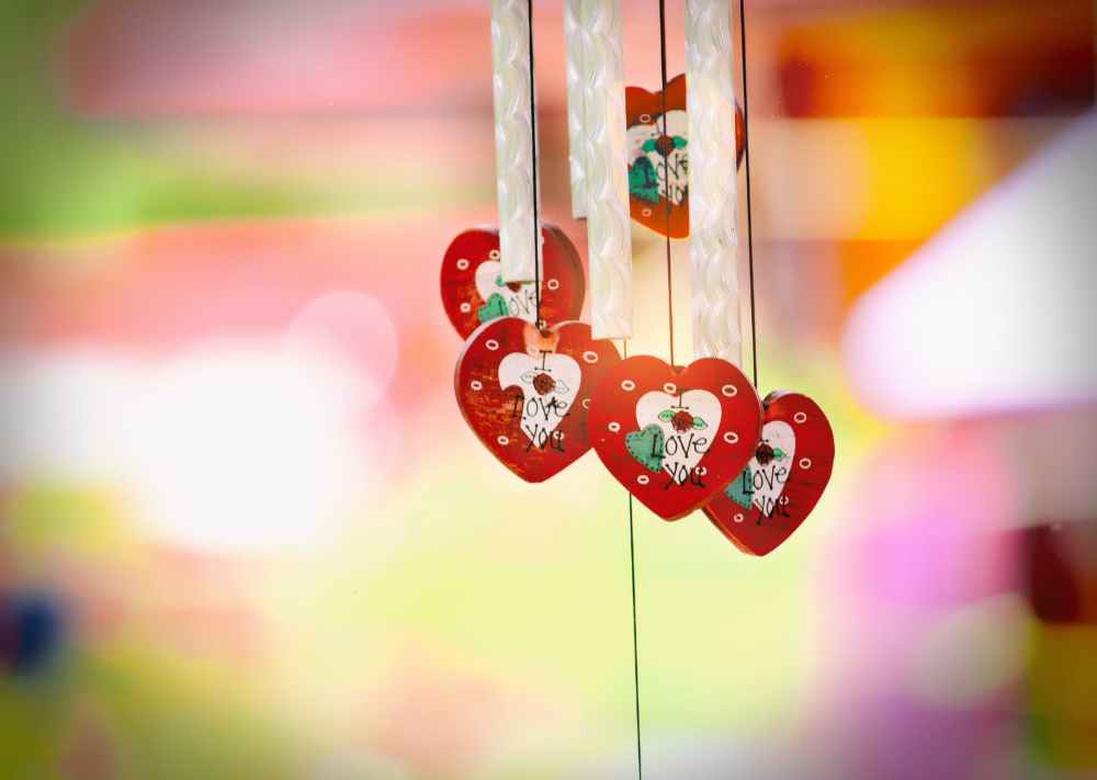 decoration design hanging love