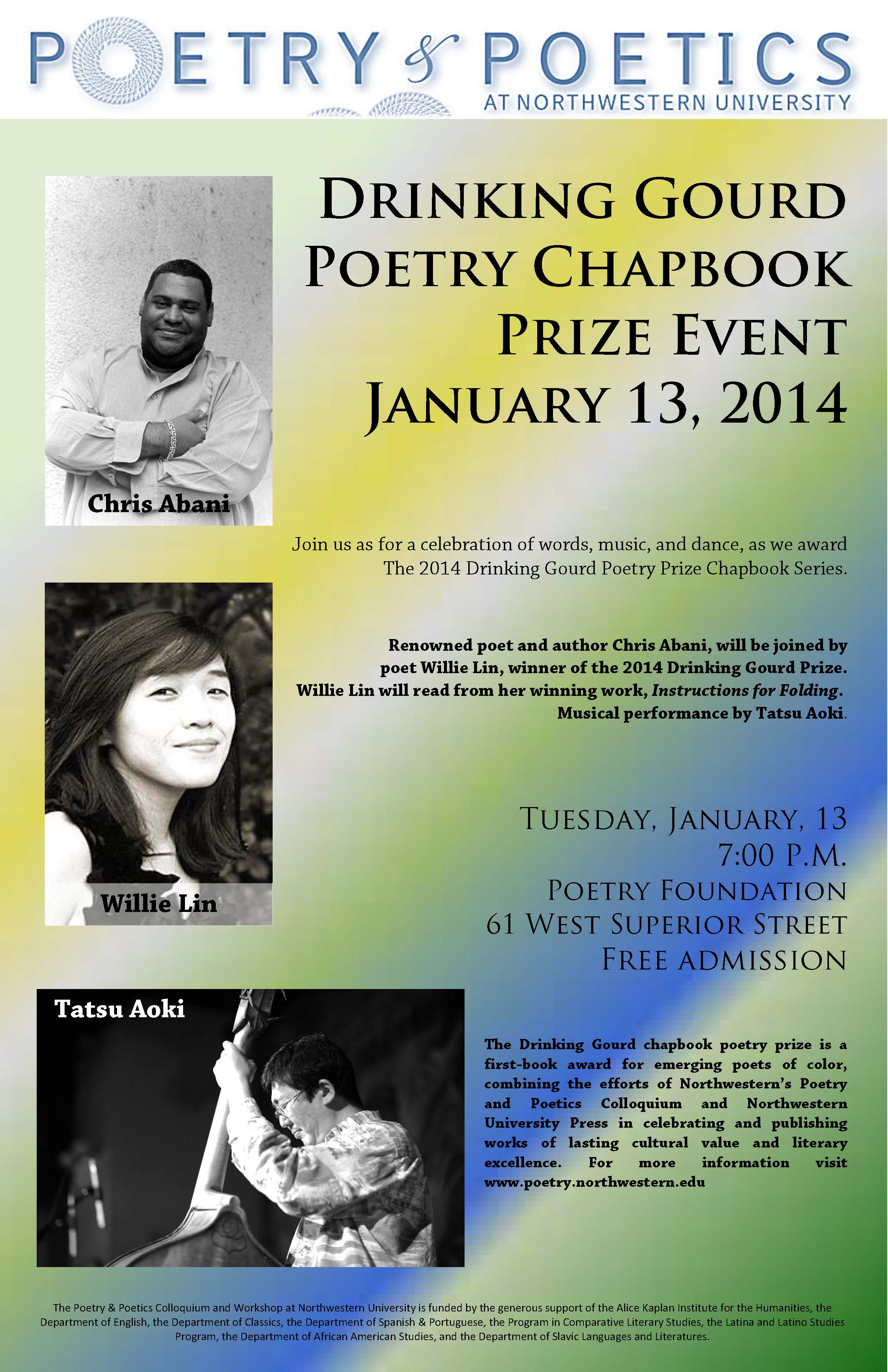 The Poetry And Poetics Colloquium At Northwestern