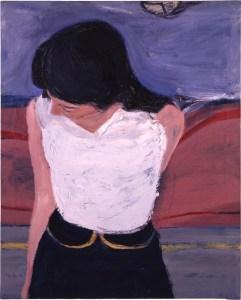 Diebenkorn Girl in White Blouse 1962