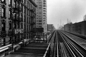 El, 64th Street, New York, 1955