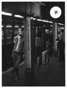 Arthur Rimbaud in New York (subway station)