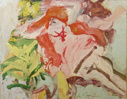 Reclining Figure in Marsh Landscape 1967