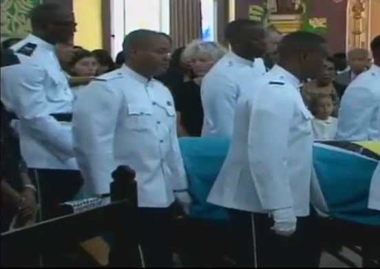 Derek funeral