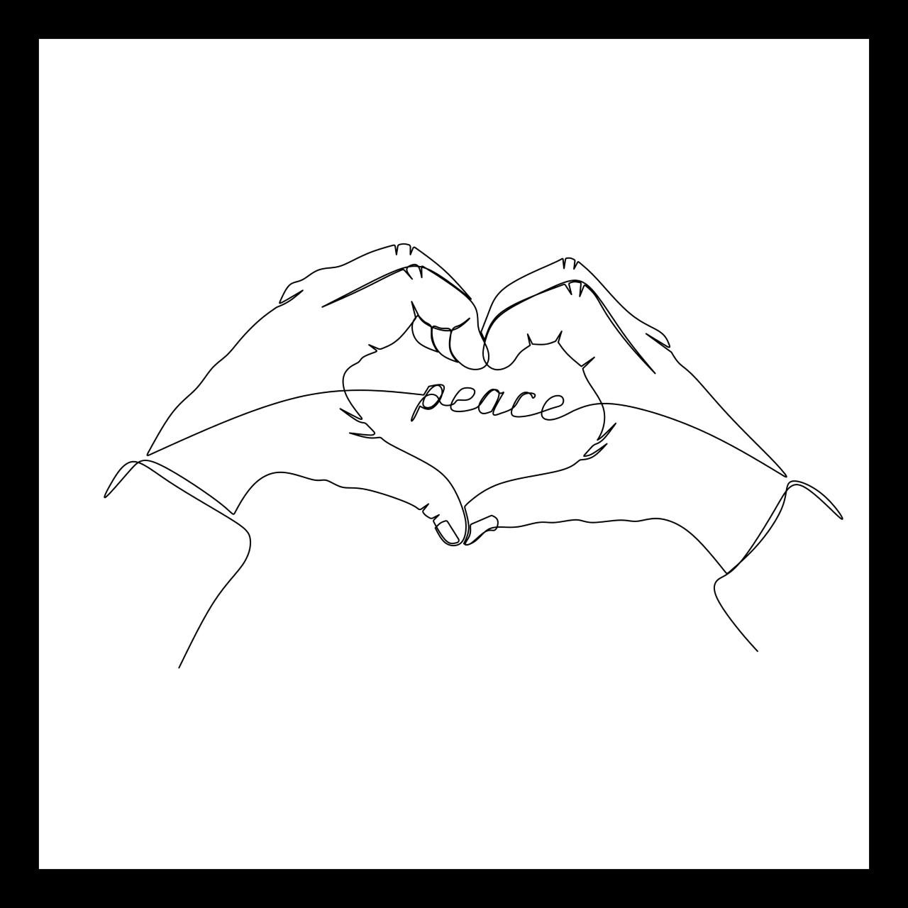 Peace - Framed