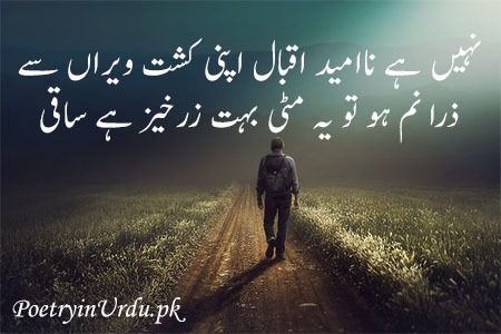 students poetry urdu