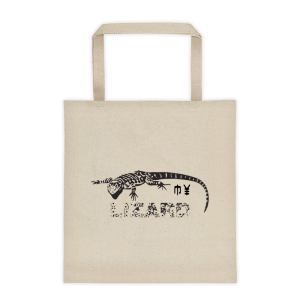 My Lizard Tote Bag