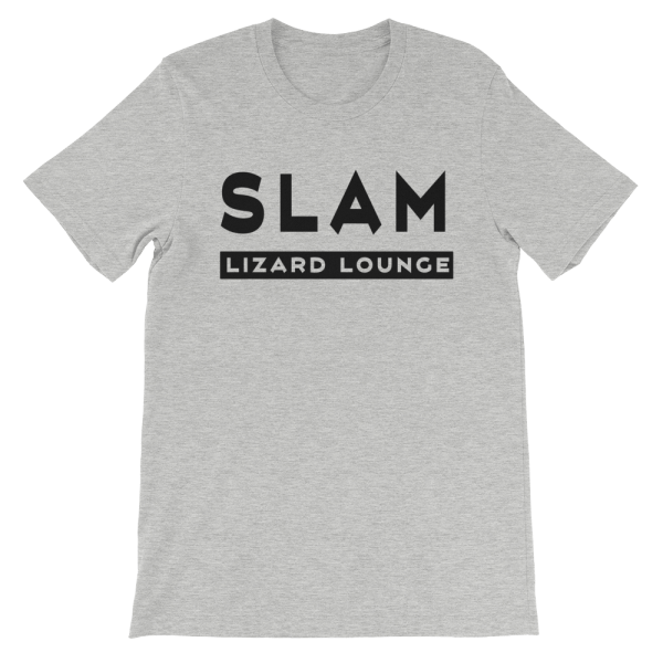 Mens Slam Lizard T-Shirt Athletic Heather