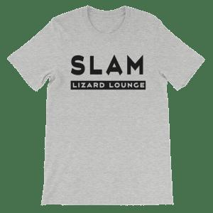 Mens Slam Lizard T-Shirt Athletic Heather