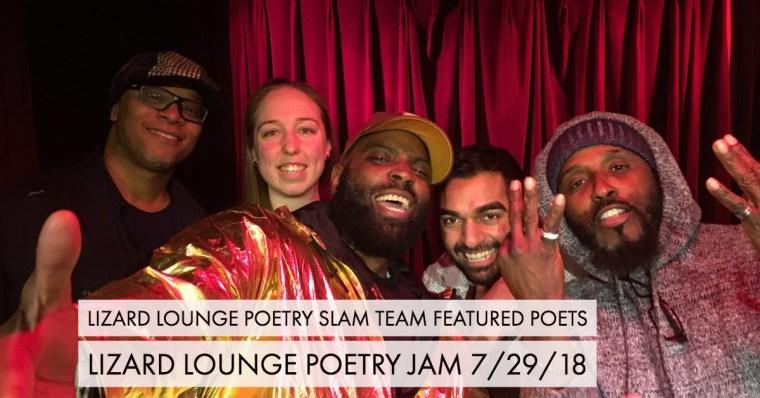 Lizard Lounge Poetry Slam Team