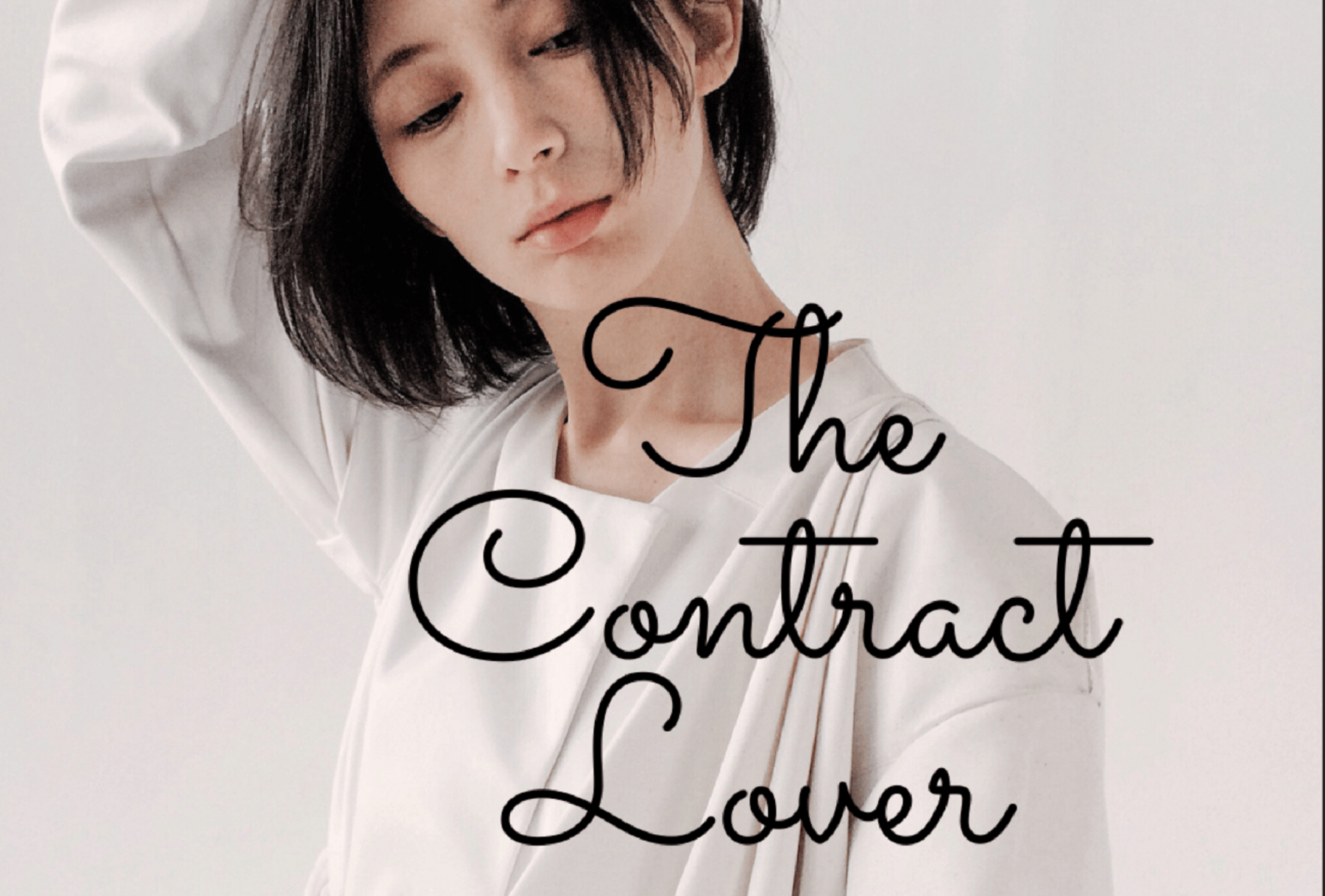 The Contract Lover Novel Cover Image