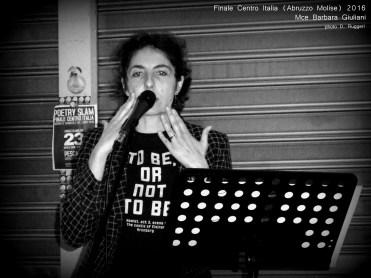 Barbara Giuliani_Poetry Slam Abruzzo Centro Italia 2016