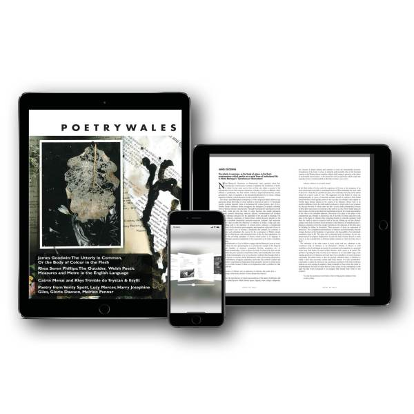 Digital subscription Exact Editions Poetry Wales
