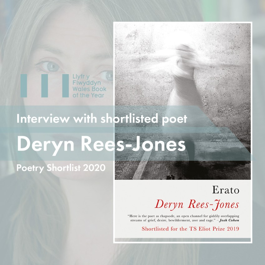 Wales Book of the Year 2020 WBOTY Deryn Rees-Jones Erato Literature Wales