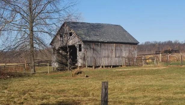 Weathered Barns