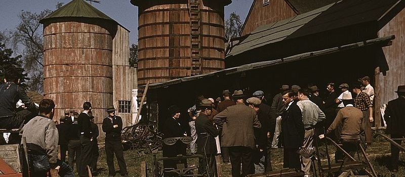 The Auction at the Farm