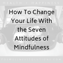 How To Change Your Life With The Seven Attitudes Of Mindfulness