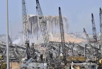 Explozie de proportii in Beirut