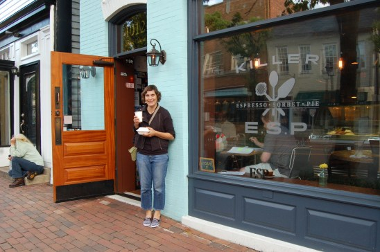 Killer ESP coffee shop in Alexandria, Virginia