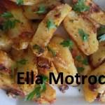 Cartofi cu suc de rosii, la cuptor (de Ella Motroceanu)
