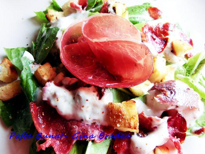 Reteta de salata Caesar