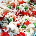 Salata de orez cu ton si creveti