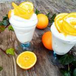 Crema fina de mascarpone cu portocale, fara zahar